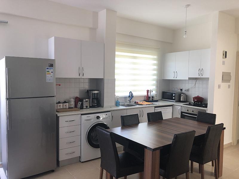 Kjøkkenet til leiligheten