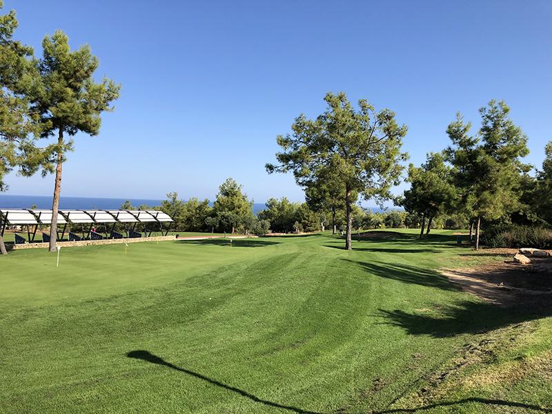 Fin dag på golfbanen
