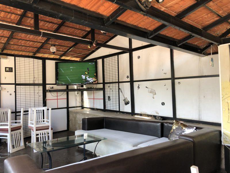 Fotball på storskjerm er populært
