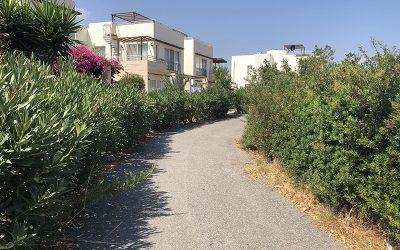 Street in resort